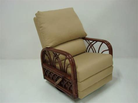 wicker recliners swivel rocking chairs