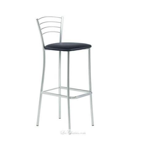 chaise de cuisine hauteur 65 cm tabouret de cuisine métal roma et tabourets cuisine métal