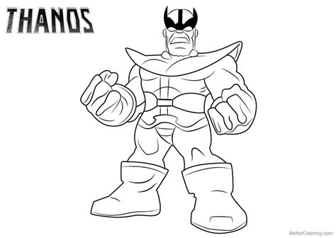 disegni da colorare thanos thanos coloring pages lineart free printable coloring pages