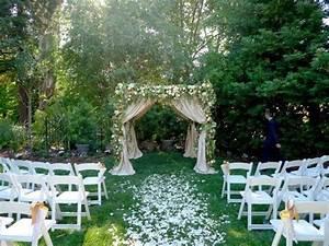 cheap backyard wedding ideas ketoneultrascom With small outdoor wedding ideas