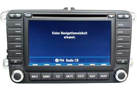 vw touran  navigation defekt navi reparatur