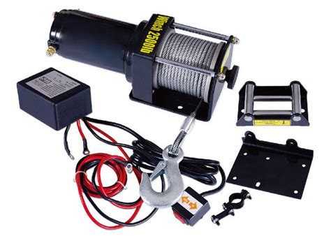 Electric Winch Motors by Electric 2500 Lb Atv Winch With Permanent Magnet Motor
