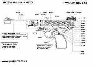Mod 25 Air Pistol  Hatsan
