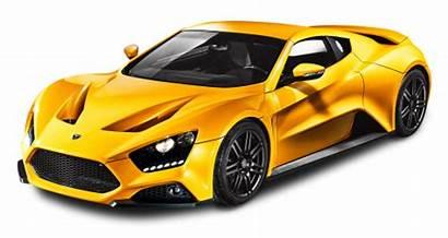 Zenvo Yellow St1 Transparent Cars Background Pngpix