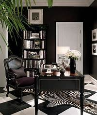perfect office color ideas black and white home office decorating ideas women | ... -lauren-black ...