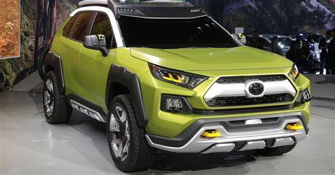 Toyota Offroad Suv Concept Has Removable Lights