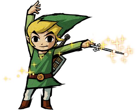 Link Loz The Wind Waker The Legend Of Zelda