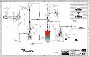 Water Heater Piping Schematic Diagram