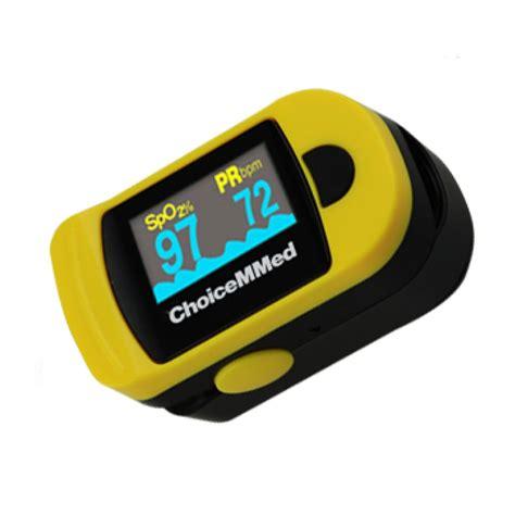choicemmed oxywatch fingertip pulse oximeter mdc nmr