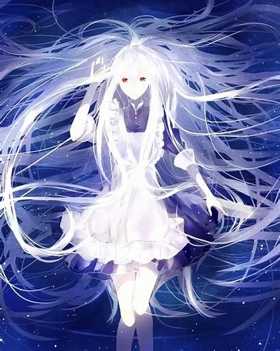 Anime Hair Eyes Mary Kagerou Project Kozakura