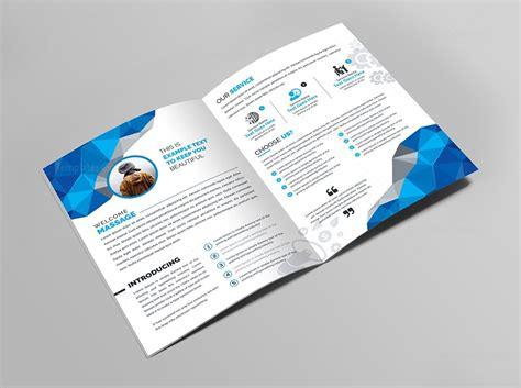 Bi Fold Brochure Design Templates by Bifold Brochure Template 000438 Template Catalog