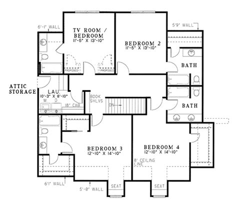 dove creek country french home plan   house