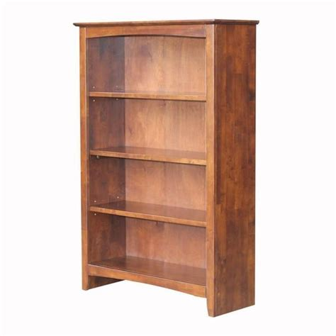 Unfinished Bookcases Free Shipping by Unfinished Shaker Bookcase 32 Quot W X 48 Quot T Free Shipping