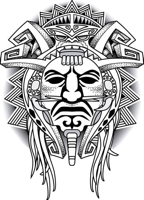 Aztec Warrior Tattoos Men