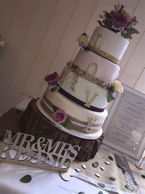 shabby chic wedding cake decorations vintage shabby chic wedding cake cakecentral com