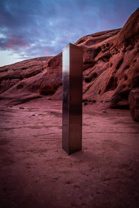 puzzling utah monolith mystery finally solved aliens