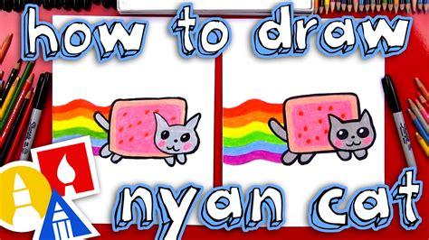 draw  nyan cat youtube
