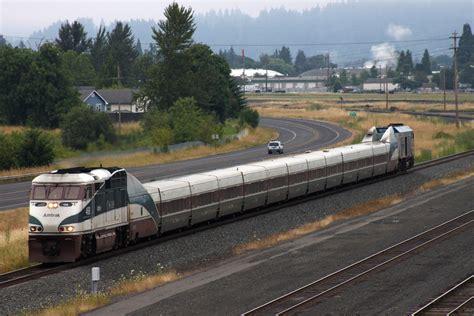 Amtrak Cascades | Train #504 departs the Eugene, OR area ...
