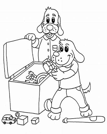 Coloring Pages Clean Printable Cleanitsupply Children Desk
