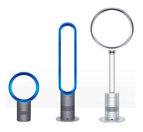 how does dyson fan cool dyson am01 am02 and am03 bladeless air multiplier fans