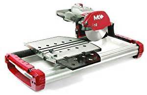 mk diamond tx 3 1 3 4 horsepower 10 inch wet cutting tile