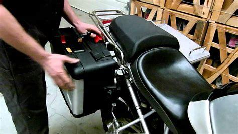 Bmw R 1200 Gs Maatwerk Uitwisselbaar Koffersysteem Youtube
