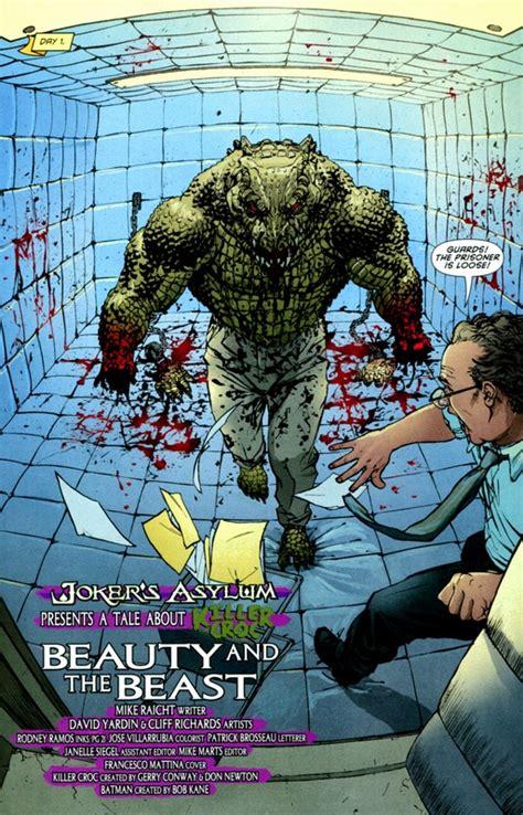 mockingbirdmarvel comicsvs killer crocdc comics