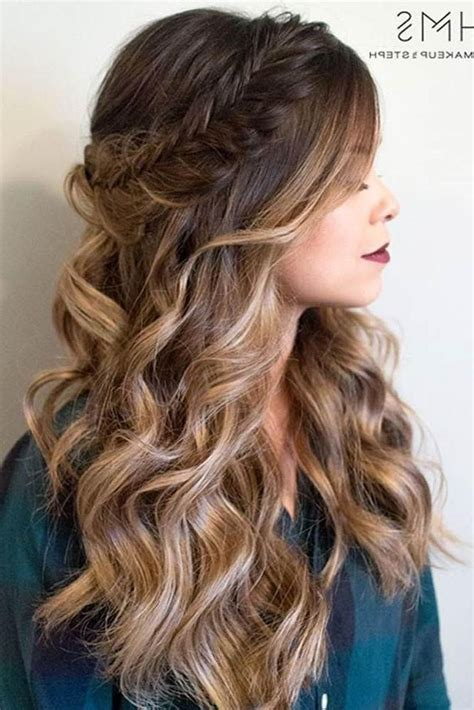 prom hairstyles down for long hair 15 best of long hairstyles down for prom