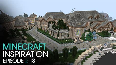 minecraft huge mansion inspiration  keralis youtube
