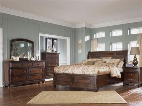 Millennium Porter Bedroom Set Shore Sleigh Bed By Millennium