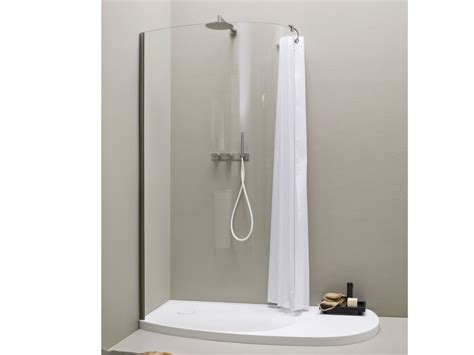 Extra Long Stall Shower Curtain by Hookless Shower Curtain Stall