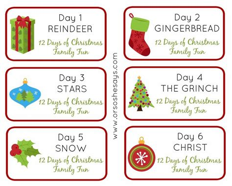 12 days of christmas theme gift ideas for coworkers day 3 12 days of family or so she says