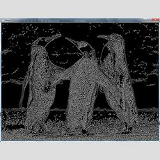 """C++  Difference Between """"edge Detection"""" And """"image"""