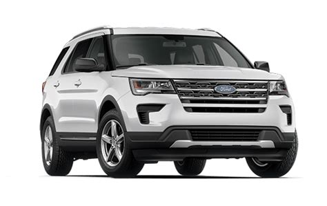 2018 Ford Explorer Trims Difference