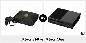 Difference Between Xbox 360 And Xbox One