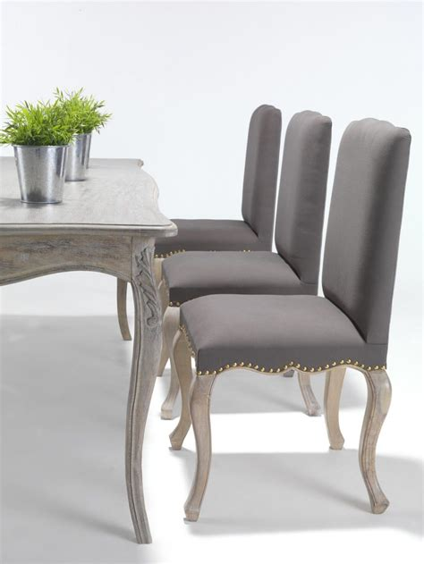 furniture modern dining chair leather white and grey