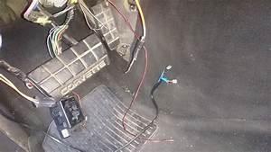 C4 1995 Under Dash Wiring  Loose Wires  Missing Relay