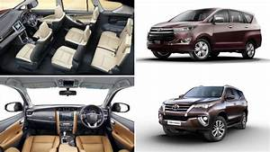 Toyota Fortuner, Innova Crysta BSVI Price Could Go Up To ...