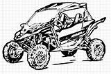 Utv Ranger Vector Polaris Coloring Side Clip Drawings Template Sketch Vectorified sketch template