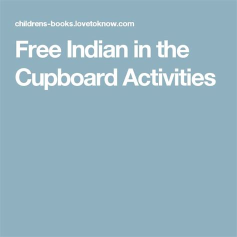 Indian In The Cupboard Lesson Plans by 1000 Images About Lesson Planning On