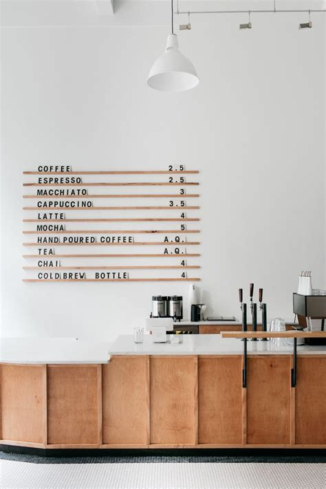 Check out these modern coffee table designs for your home! Menu board at Passenger Coffee's new Coffee Bar & Tea Room (With images) | Coffee shops interior ...