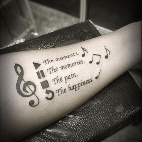 100 Music Tattoo Designs For Music Lovers Awesome