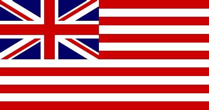 Fictional flags similar to the USA national flag