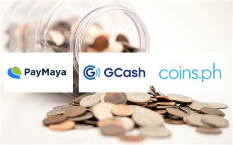 paymaya gcash coinsph  payment provider  ph