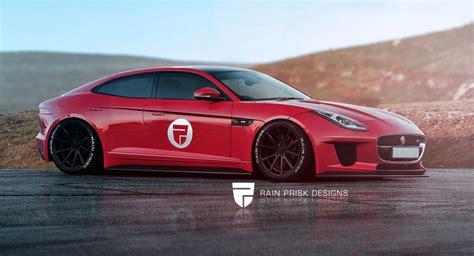 New 4 Door Jaguar by Four Door Jaguar F Type Is One Sleek Sedan Carscoops
