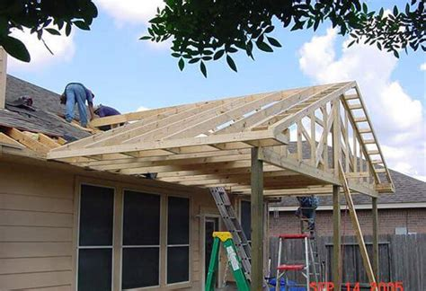 building a patio roof how we build houston patio covers best patio covers in