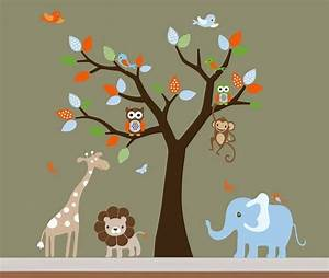 Church nursery ideas decor tree wall