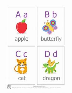 Abc alphabet flash cards for Flash cards alphabet letters