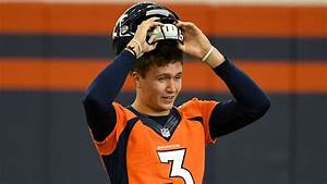 green charts golf drew lock broncos will need to be patient denver