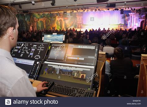 Lighting Technician by A Lighting Technician Controls Effects For A Live Stage